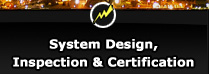 system design, inspection, and certification